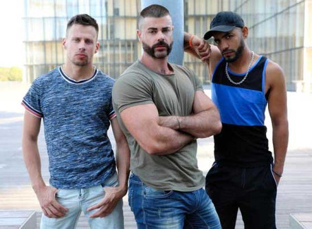 Eric Videos – A full day – Jose and Philippe & Tahar