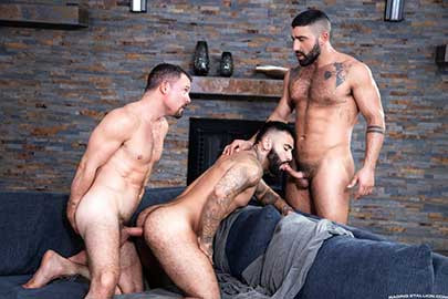 Raging Stallion - Loaded – Muscle Fuck! – Rikk York & Sharok and Jesse Zeppelin