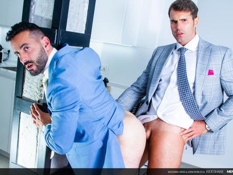 Men At Play – Rideshare – Dani Robles & Massimo Arad