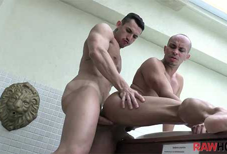 RawHole – Wet Fuck in a Hot Tub – Joao Miguel and Kaliu