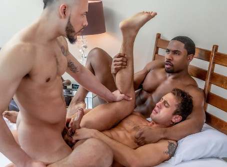 Noir Male - Dick Swap - DeAngelo Jackson, Jarret Moon & Elijah Wilde