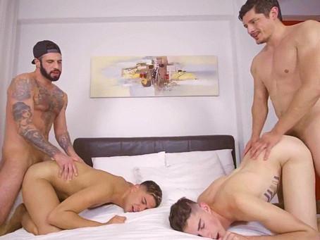 Twink Trade – Stepdad Crush – Rocky Vallart, Alex Montenegro, Jake Nobello & Romeo Davis