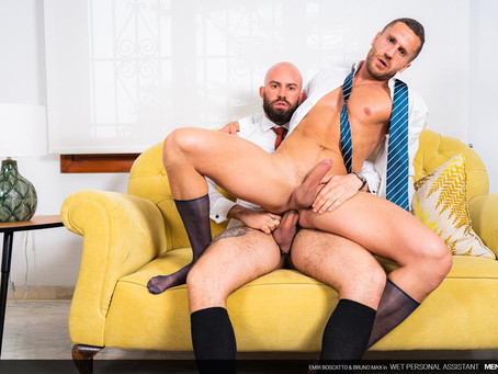 Men At Play - Wet Personal Assistant – Bruno Max & Emir Boscatto