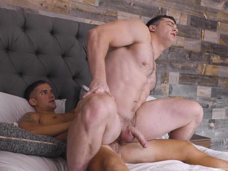 Next Door Buddies - Collins Muscle Study - Brandon Anderson & Collin Simpson