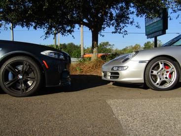 F10 M5 vs Porsche Carrera S