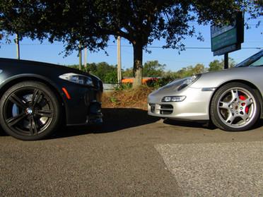 F10 M5 vs Porsche Carrera S