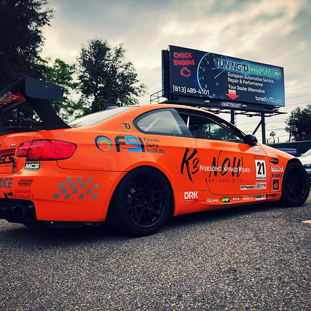 E92 M3 ready to get back on the track. We perform full track services, contact us for more details