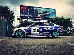 The GCS driving academy E46 is ready for the track! With more power and some tweaks, the car is read
