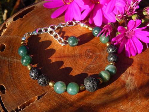 Grounding & Protection Bracelet + Diffuser