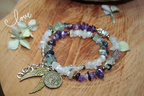 """Aquarius """"Zodiac Wrap"""" Bracelet"""