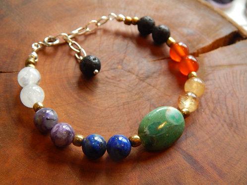 Full Chakra Bracelet III + Diffuser
