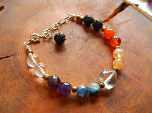 Full Chakra Bracelet IV + Diffuser