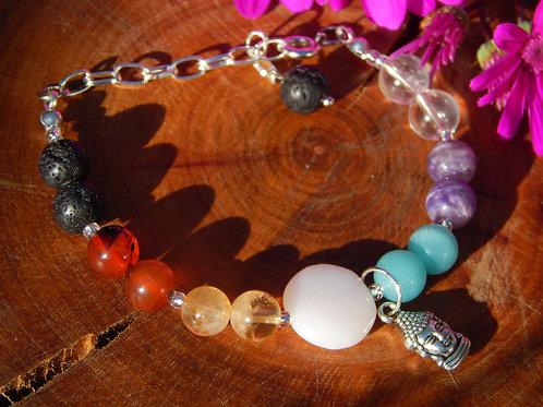Full Chakra Bracelet VIII + Diffuser