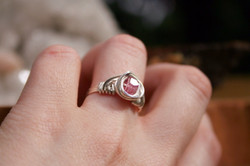 Pink Tourmaline in Sterling Silver