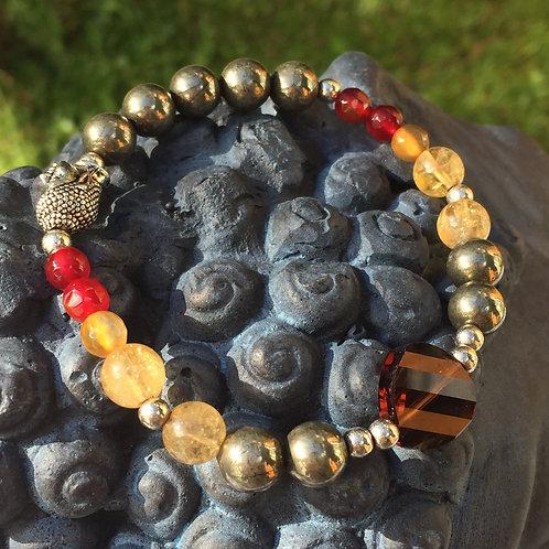 Austrian Swarovski Feature Stretchy Bracelet
