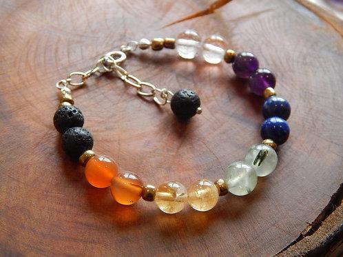 Full Chakra Bracelet I + Diffuser
