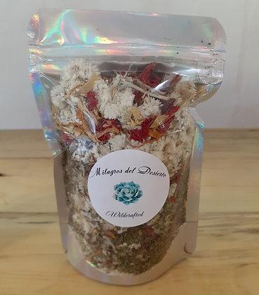 All natural bath tea-Milagros del Desierto