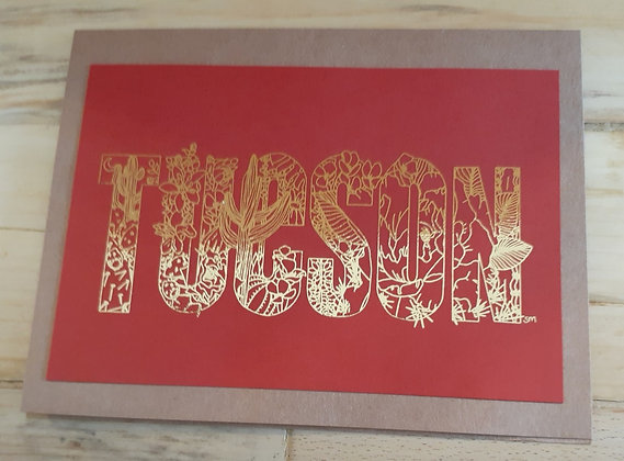 Tucson card
