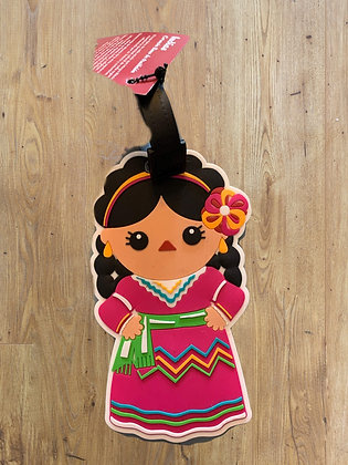 La Muñeca Luggage Tag