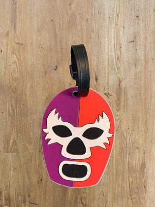 Luchador Luggage tag