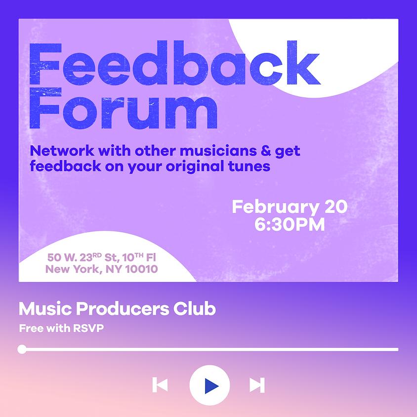 Feedback Forum
