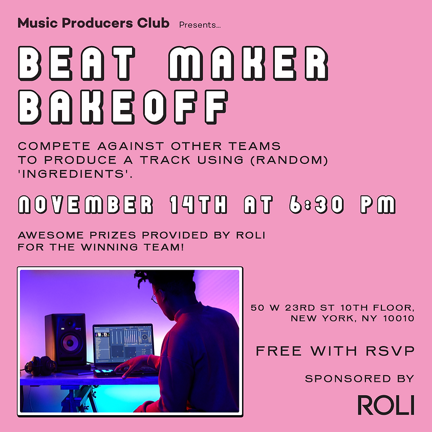 MPC + ROLI Presents: Beat Maker Bakeoff