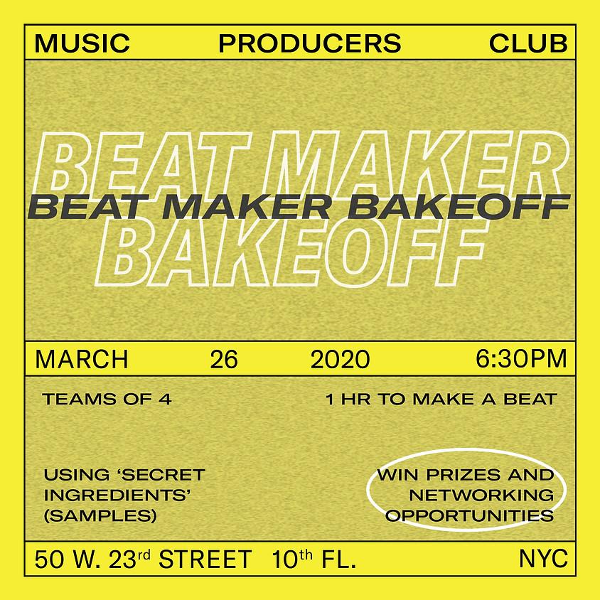 Beat Maker Bakeoff
