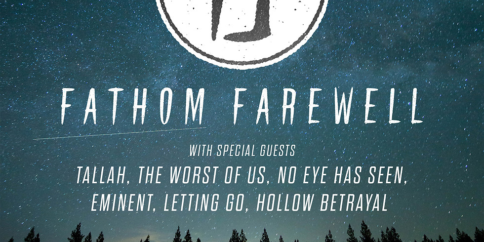 Fathom Farewell at The Palladium Upstairs
