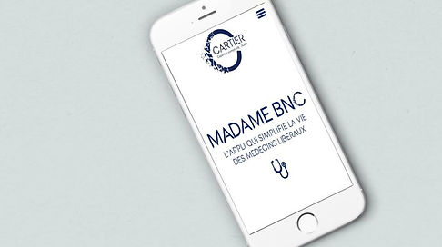 Ecran iphone MADAME BNC.JPG