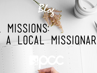 LOCAL MISSIONS: ADOPT A LOCAL MISSIONARY