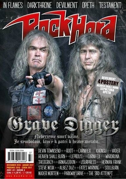 Interview In A new issue of Rock-Hard magazine about the new album Schizoemphatic, Check it out...