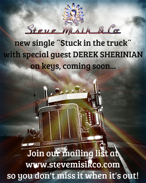 Derek Sherinian's key's in our new single ¨Stuck in the truck¨. Release 23.04.2021  Don't miss it!