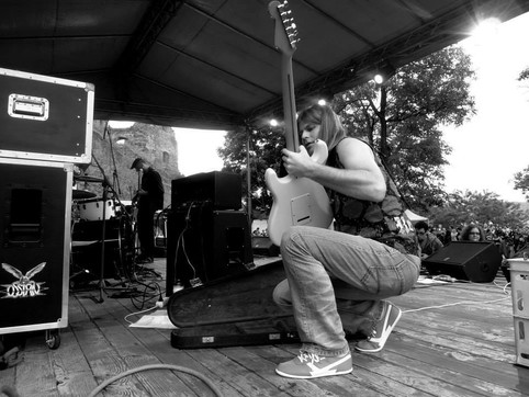 Steve Misik & Co. performance as opener for iconic metal band from Hungary Ossian.