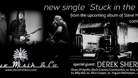 Special guest - Derek Sherinian's keys in our new single Stuck in the truck.