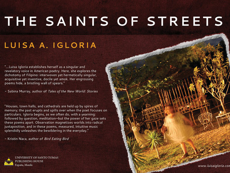 "Shifting tongues, moving worlds in Luisa Igloria's ""The saints of streets"""