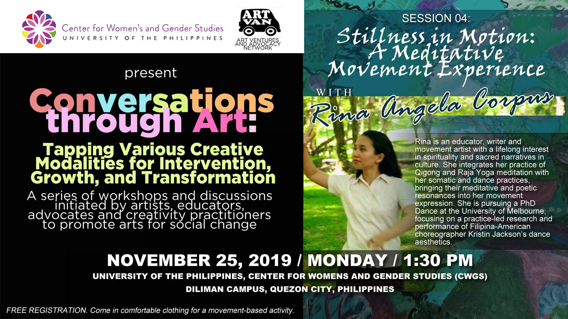 Conversations through Art, UP Centre for Women's and Gender Studies