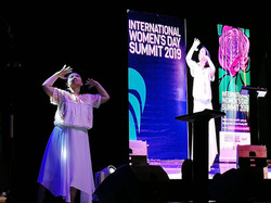 'Pakiusap', solo dance for International Women's Day Summit