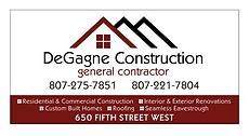 DeGagne Construction (General Contractor