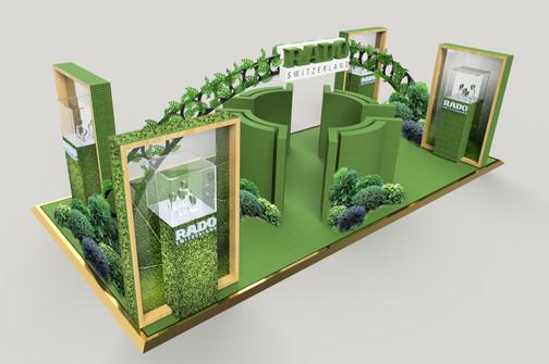RADO Booth Design