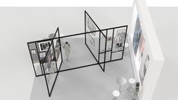 Guy Laroche Booth Design