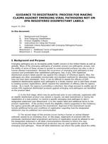 Emerging Viral Pathogen Program Guidance