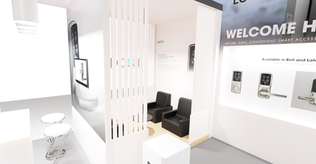 3D Rendering of Smartec Booth Design