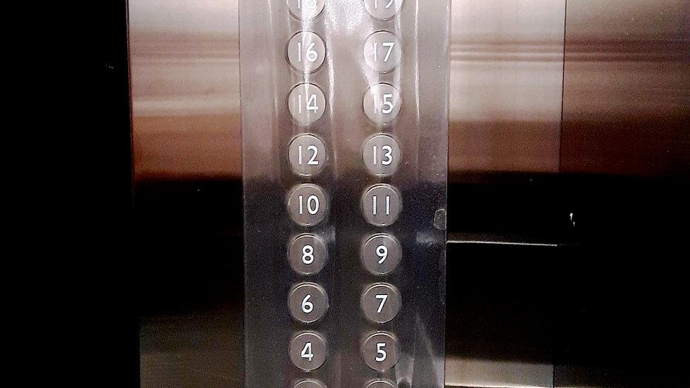 ELEVATOR BUTTON GUARD (L)