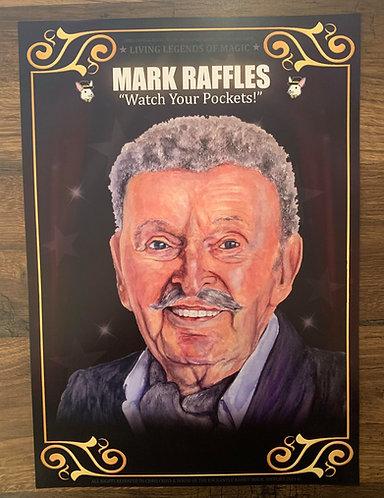 MARK RAFFLES - Living Legends of Magic Poster Print