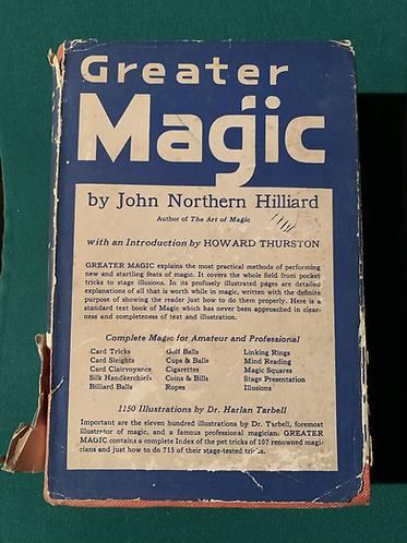 Greater Magic by John Northern Hilliard