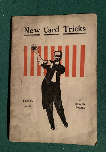 New Card Tricks by Donald Holmes