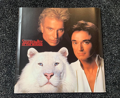 Siegfried & Roy at The Mirage - Official Show Programme