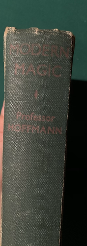 Modern Magic by Professor Hoffman