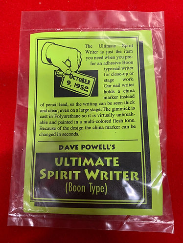 Ultimate Spirit Writer (Boon Type) By David Powell