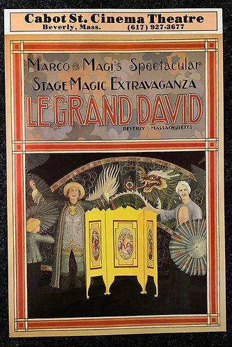 Le Grand David Poster